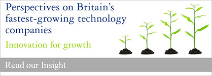 Perspectives on Britain's fastest-growing technology companies